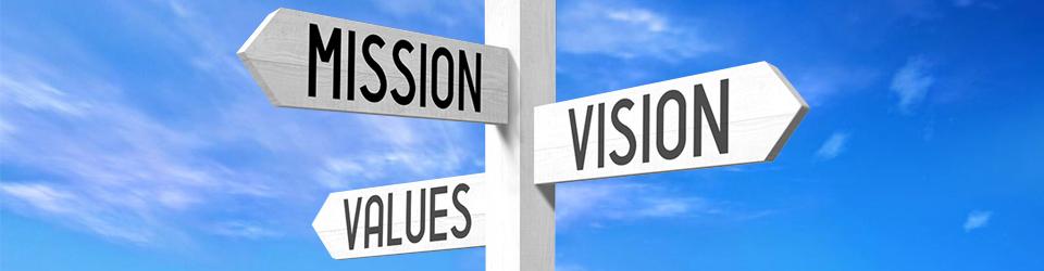importância de se identificar com os valores e missão da empresa